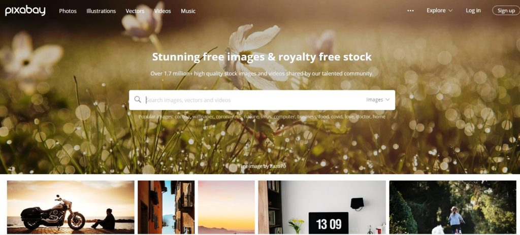 Top website for Copyright and royalty free image
